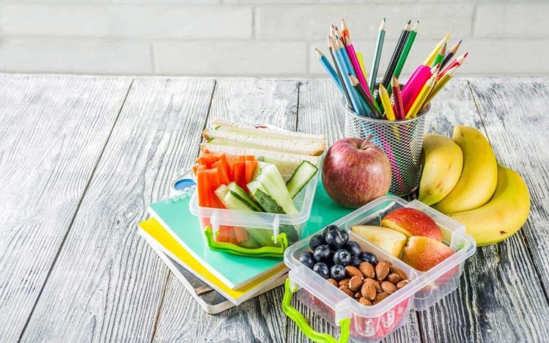 Healthy School Lunches & Other Back to School Dental Tips